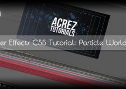 After Effects CS5: создание интро с применением CC Particle World