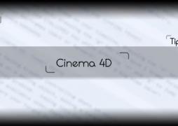 Cinema 4D: работа со сплайнами