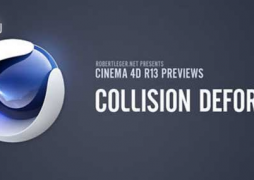 Cinema 4D R13: Collision Deformer