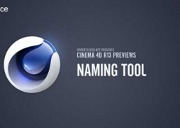 Cinema 4D R13: Naming Tool