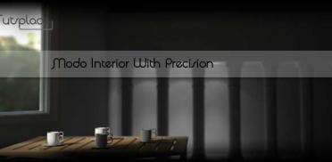 Modo: моделирование интерьера
