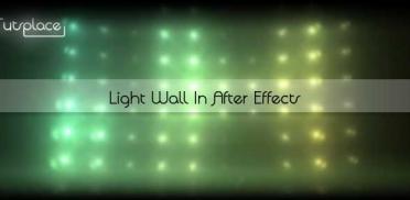 Создание светящейся стены в After Effects