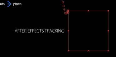 Трекинг объектов которые выходят за границы экрана в After Effects