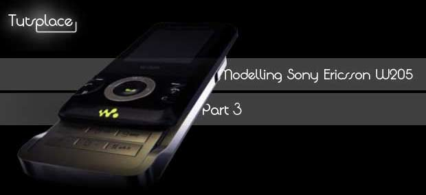 Моделирование Sony Ericsson W205