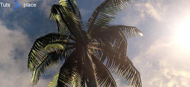 Создание пальмы в SpeedTree