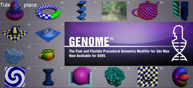 Модификатор GENOME от Software Thinkbox