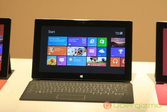 планшетные компьютеры Microsoft Surface