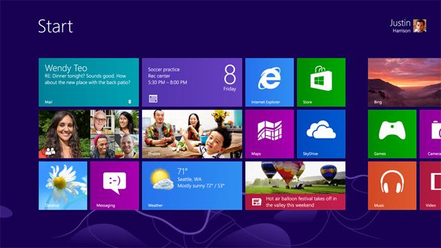 Windows 8 RTM попал на файлообменники