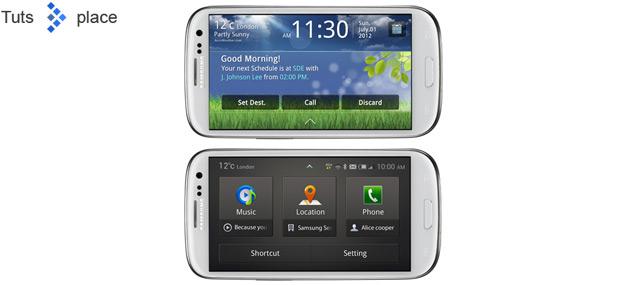 Автомобильное приложение для Galaxy S III представил Samsung