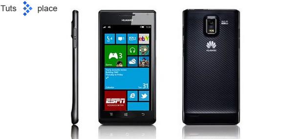 Анонс смартфона Huawei Ascend W1