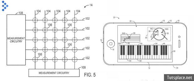 Apple патентует чувствительные, гибкие дисплеи