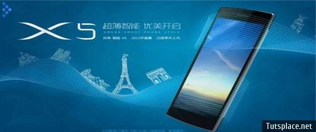 Huawei Umeox X5 - самый тонкий смартфон в 5,5 мм