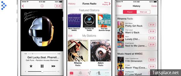 iTunes Radio будет платить лейблам по 13 центов за одно прослушивание