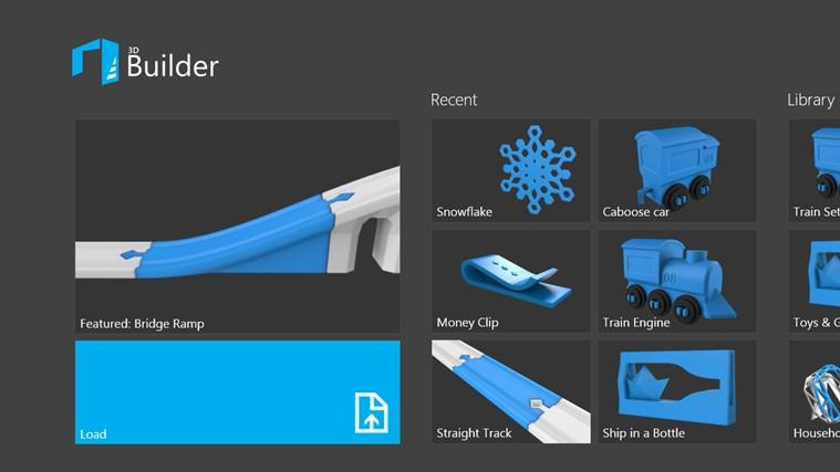 Microsoft 3D Builder научит Windows 8.1 3D-печати