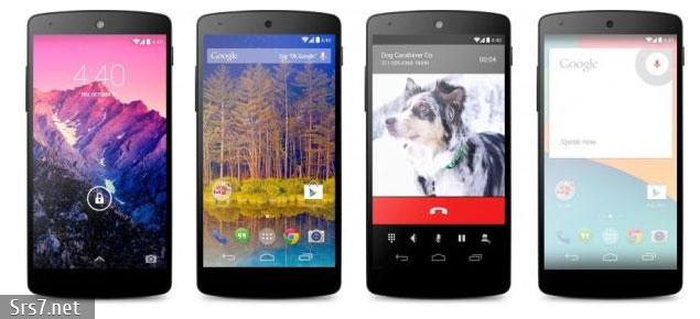 Google Nexus 5 на OC Android 4.4 KitKat