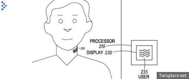 Motorola патентует устройство с микрофоном носимое на коже