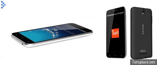 Смартфон Just5 Spacer – самых бюджетный с дисплеем в 5 дюймов