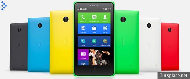 смартфоны Nokia X, X+ и XL на ос Android