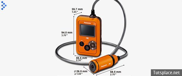 Panasonic HX-A500 - носимая видеокамера