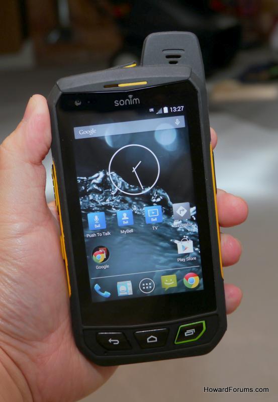 Не убиваемый смартфон Sonim XP7