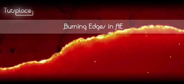 Создание горящих краев в After Effects