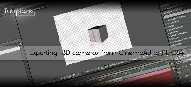 Экспортирование камеры из Cinema 4D в After Effects