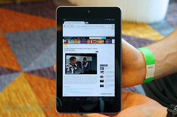 Nexus 7 - планшет от Google и Asus