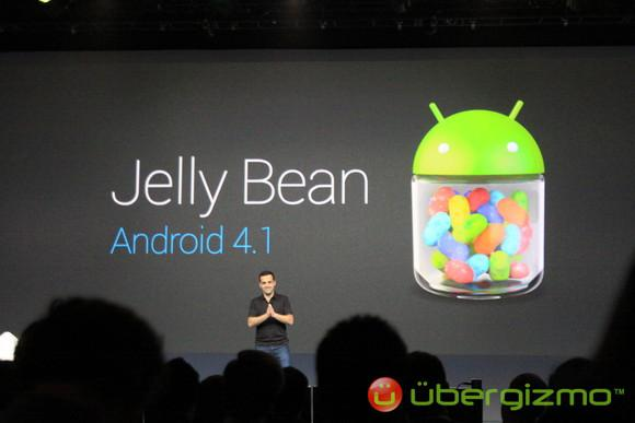 Новая операционная система Android 4.1 Jelly Bean