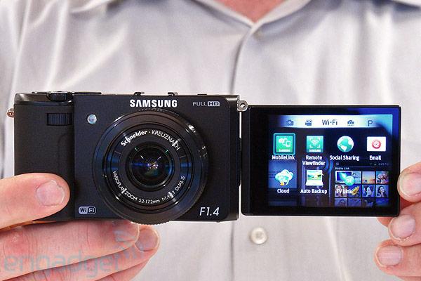 Фотоаппарат Samsung EX2F для профессионалов и любителей