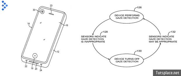 iPhone будет отслеживать взгляд пользователя
