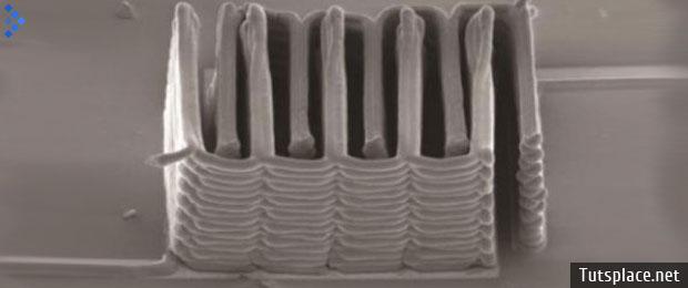 В 3D принтере напечатали батарею с размером песчинки