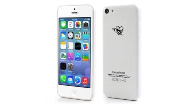 Смартфон Goophone i5C - сто долларовый клон iPhone 5C