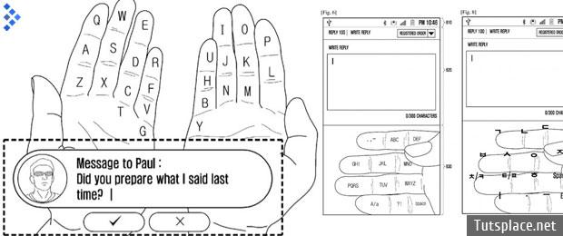 Клавиатуру с дополненной реальности патентует Samsung