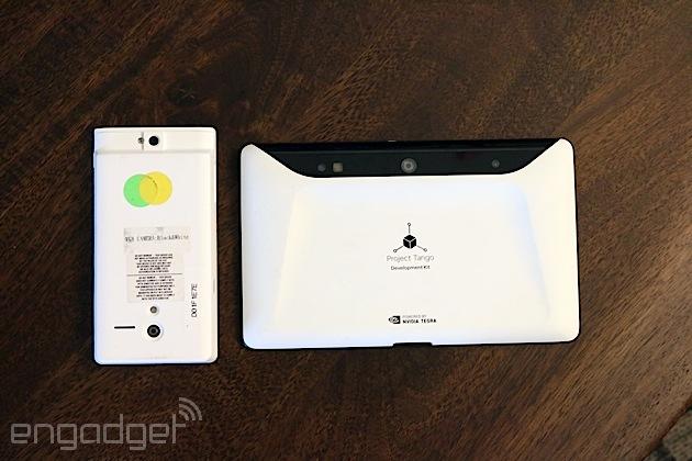планшет Project Tango Tablet